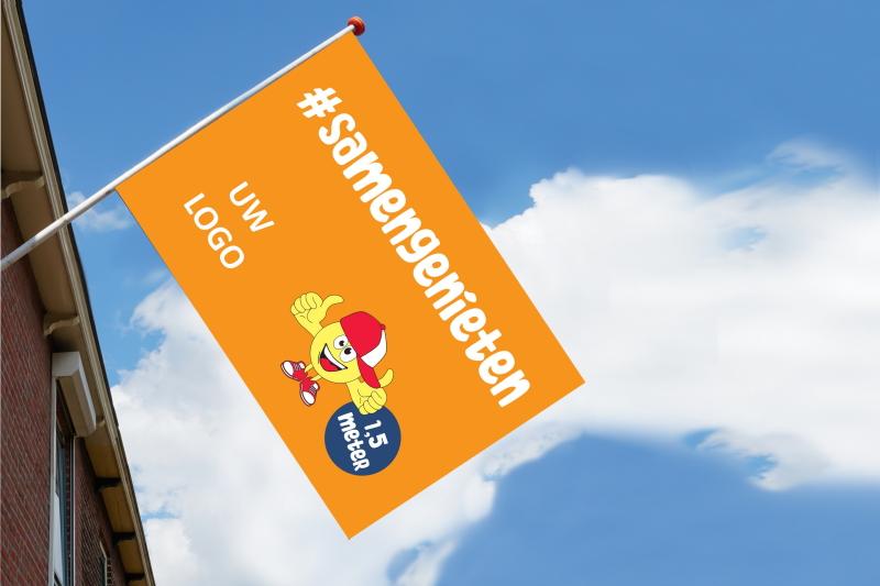 Themavlag Vakantie 2020 oranje