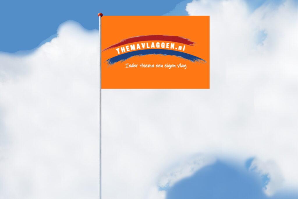 Themavlaggen mastvlag horizontaal