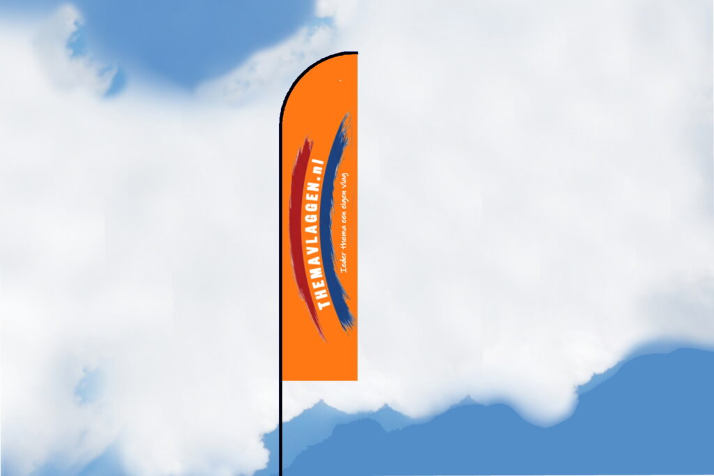 Themavlaggen beachvlag standaard